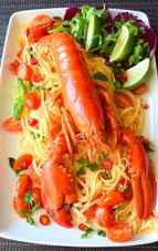 O delicatesă de gătit cel puțin o dată în viață – paste cu homar