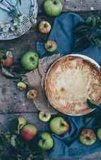 Tartă cu mascarpone și mere