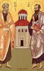 Sărbătoarea lunii Iunie, Sfinții Petru și Pavel: rugăciune care ne apără de rău