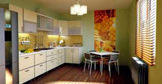 Amenajări bucătării cu bun feng shui și combinații de culori potrivite pentru bucătărie