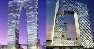 Ce semnifică golurile din clădirile celebre? Feng Shui în arhitectură