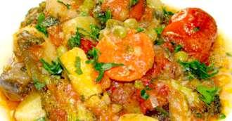 Rețeta ghiveci de legume la cuptor