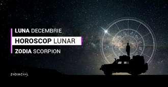 Horoscop lunar decembrie 2019 Scorpion: va focusati pe partea materiala