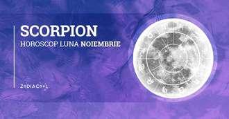 Horoscop lunar noiembrie 2019 Scorpion: sunteți deschiși la idei noi