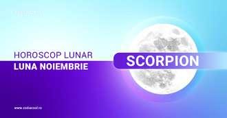 Horoscop lunar Noiembrie Scorpion 2020