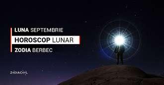 Horoscop lunar Septembrie 2019 Berbec: vești bune și mult randament luna are