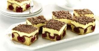 Un desert ideal pentru mesele în familie – prăjitura Valurile Dunării