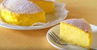 Bucuria copiilor – cheesecake japonez, desertul care este gata în 15 minute
