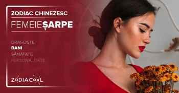 Zodia SARPE.FEMEIA Sarpe,Bani.Horoscop chinezesc.ZODIACOOL