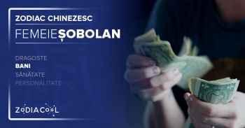 Zodia SOBOLAN Bani, muncă și carieră. Horoscop Femeia Sobolan