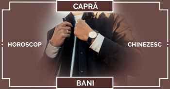 Zodiac chinezesc CAPRA, horoscop chinezesc 2019 Capra Bani