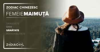 Zodia MAIMUTA. FEMEIA Maimuta Sanatate, Horoscop chinezesc